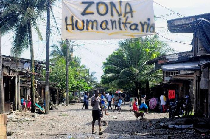 Zona humanitaria La Playita