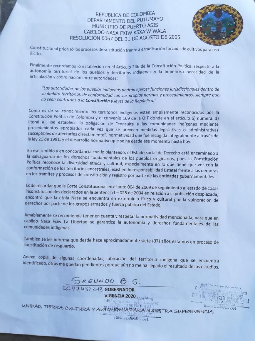 Carta Pagina 2